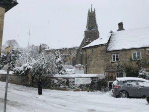 Minch In Snow
